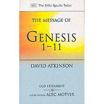 Wiadomość Genesis 1-11-świt stworzenia przez David Atkinson-