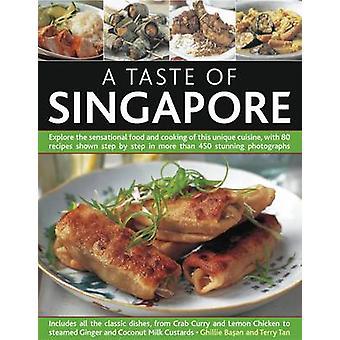 Ein Vorgeschmack auf Singapur - entdecken Sie das sensationelle Essen und das Kochen der Thi