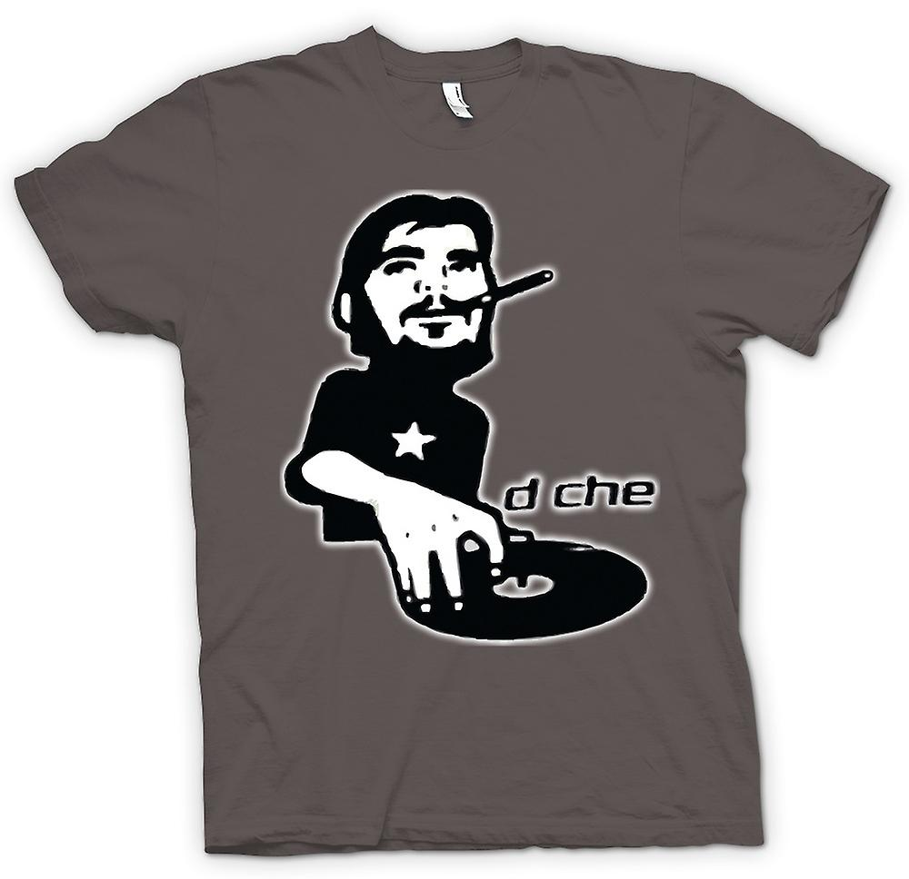 Mens T-shirt - DJ Che Cool Retro Mixing