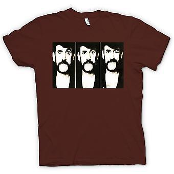 Mens T-shirt - Lemmy - Motorhead - BW - Photo Slide