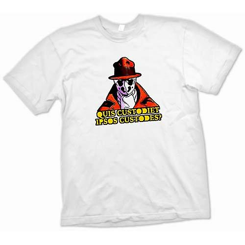 Mens t-shirt-che guarda Watchmen nuovo ordine mondiale