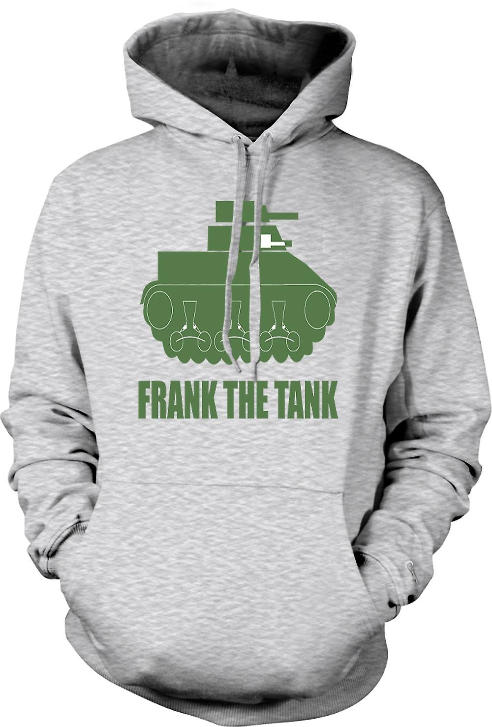Mens Hoodie - Frank The Tank - Quote