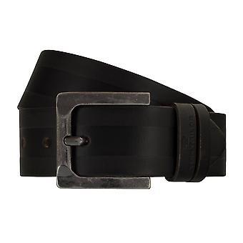 Jeans ceintures de hommes ceintures en cuir TOM TAILOR ceinture ceinture marron 7755