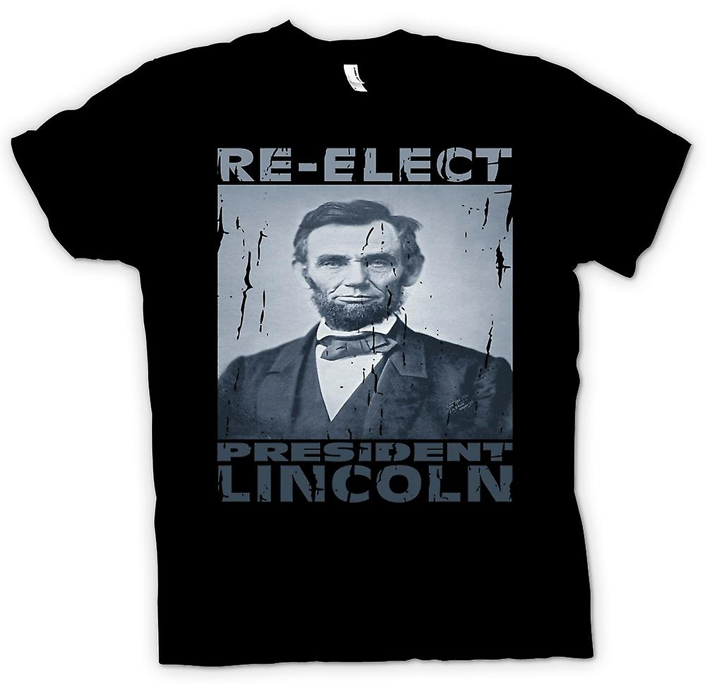 Kids T-shirt - Relect President Lincoln - Portrait