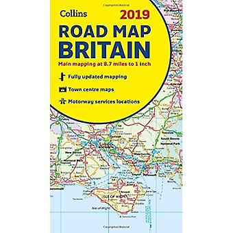 2019 Collins Map of Britain