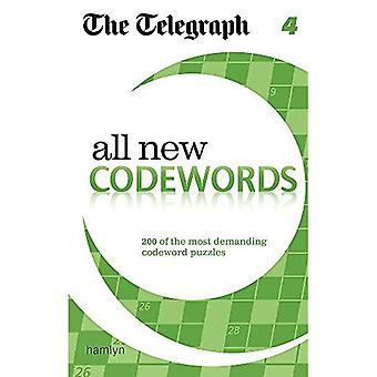 The Telegraph All New Codewords 4 (The Telegraph Puzzle Books)
