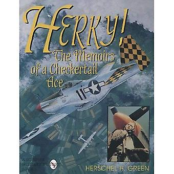HERKY: Memoirs of a Checkertail Ace (Schiffer Military History)