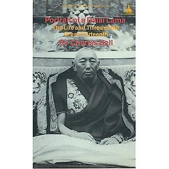 Porträtt av Dalai Lama