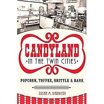 Candyland dans les villes jumelles: pop-corn, caramel, croquant & écorce (palais américain)
