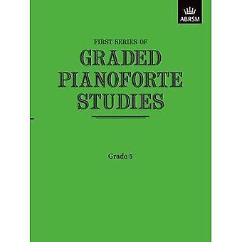Graded Pianoforte Studies, First Series, Grade 5 (Higher) (Graded Pianoforte Studies (ABRSM))