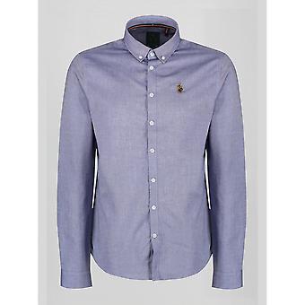 Luke 1977 Cuffys oproep Navy/wit Shirt