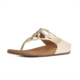 FitFlop Bumble Leather Toe Post Women's Sandals