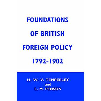 Foundation of Brtish Foreign CB Fndtns Btsh Forgn Py by Temperley & Harold