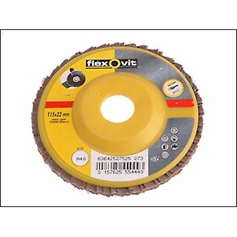 FLAP DISCS FOR ANGLE GRINDERS 125MM 40G (1)