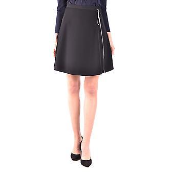 Armani Jeans Black Polyester Skirt