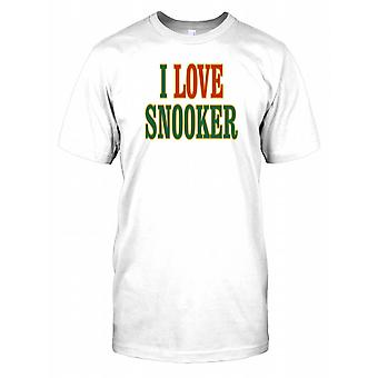 Je aime Snooker T Shirt