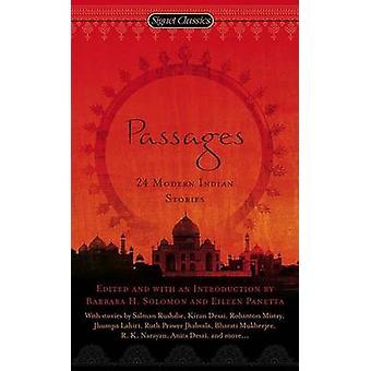 Passages - 24 Modern Indian Stories by Barbara H Solomon - Eileen Pane