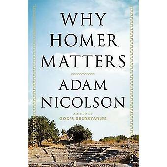 Why Homer Matters by Adam Nicolson - 9781627791793 Book