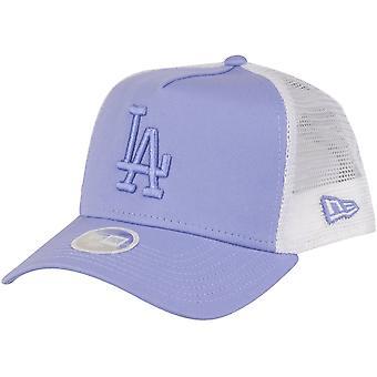 New Era Damen Trucker Cap - Los Angeles Dodgers lavendel