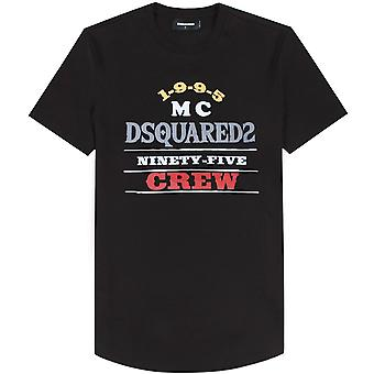 Dsquared2 MC Crew Graphic Print T-Shirt Black