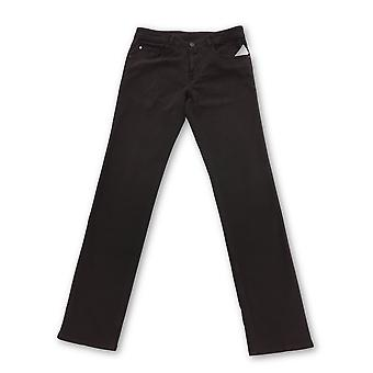 Pal Zileri jeans in maroon stretch cotton