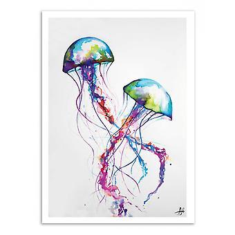 Konst-affisch-Narasumas-Marc Allante 50 x 70 cm