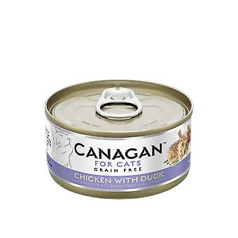 Canagan 75g Chicken with Duck Cat Wet Food Can - 75g Can
