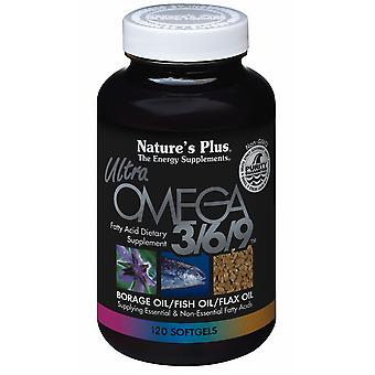 Natures Plus ULTRA OMEGA 3/6/9 1200MG SOFTGELS 120