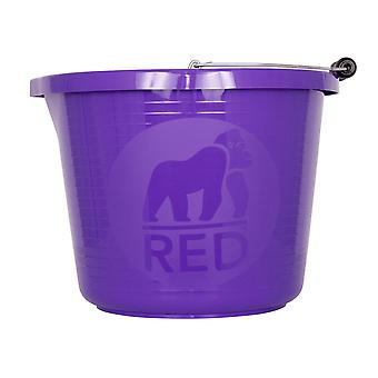 Red Gorilla 5l Premium Bucket - Pourpre