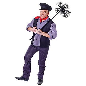 Bristol Novelty Unisex Chimney Sweep Costume