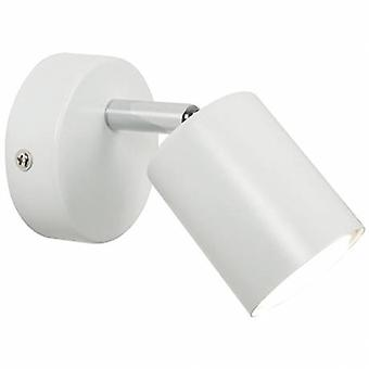 Led Indoor Cylinder Wall Spotlight White