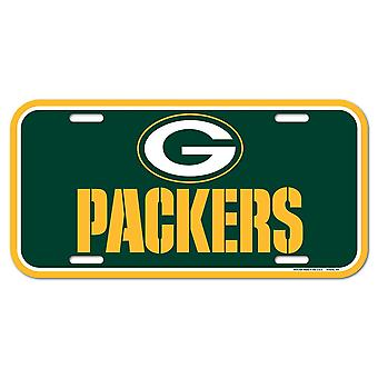 Wincraft NFL License Plate - Green Bay Packers