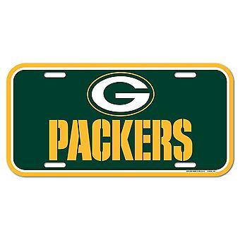 Wincraft NFL Kennzeichenschild - Green Bay Packers