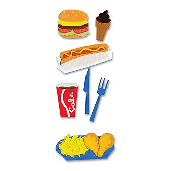 Touch Of Jolee's Dimensional Sticker Fast Food Spjj 064