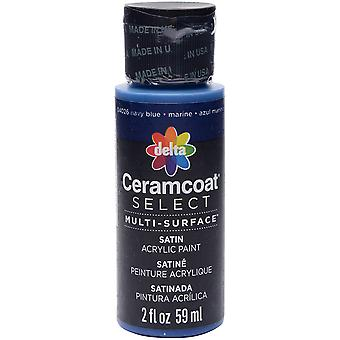 Ceramcoat Select Multi-Surface Paint 2oz-Navy Blue 4000-04026