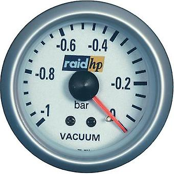raid hp 660222Vacuum Meter -1 to 0bar voltage12V