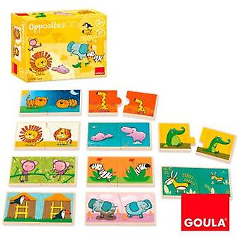 Goula Opposites Puzzle King Of The Jungle (Toys , Preschool , Puzzles And Blocs)