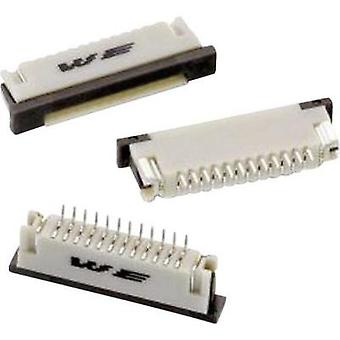 Receptacles (standard) ZIF FPC Total number of pins 18 Würth Elektronik 68611814422 Contact spacing: 1 mm 1 pc(s)