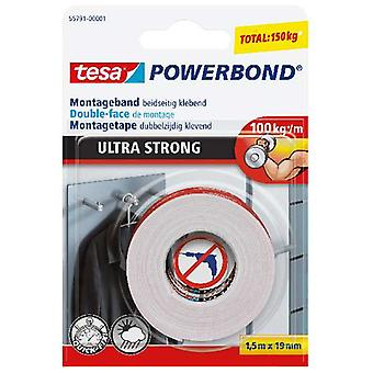 Tesa Powerbond Ultra Strong Montagetape 1,5 M X 19 Mm