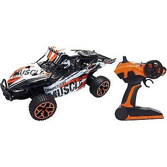 Amewi 22220 1:18 RC model car for beginners Electric Buggy 4WD incl. batteries and charger