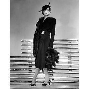 Kay Francis 1941 fotoutskrift