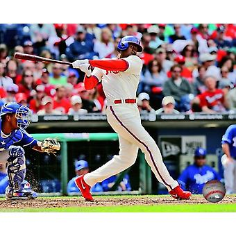 Domonic Brown 2013 Action Photo Print
