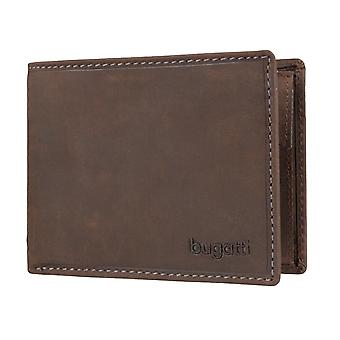 Bugatti NOTA mens plånbok plånbok purse Brown 3604