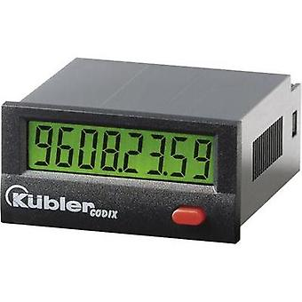 Kübler CODIX 135 Operating hours timer LCD