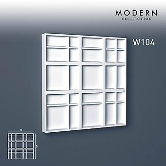 3D wall panel ORAC decor W104 MODERN KILT Zierlement modern design white