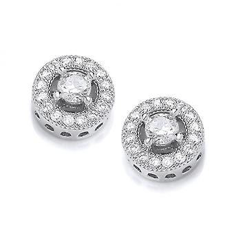 Cavendish French Twinkle Toes Solitaire Earrings