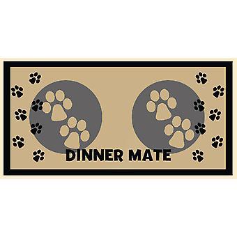 Middag Mate creme 40x60cm