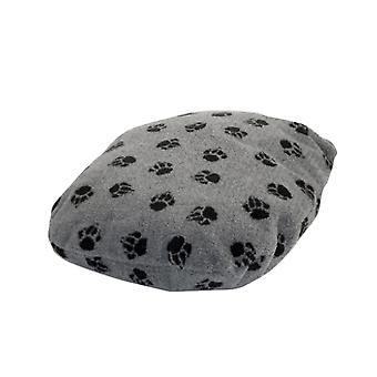 Fleece pote grå Fibre sengen størrelse 5 101x142cm