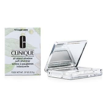 Clinique All About Shadow - # 1A Sugar Cane (Soft Shimmer) - 2.2g/0.07oz