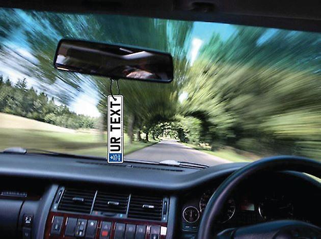 Ambientador de coche personalizado mantenga Medic calma matrícula